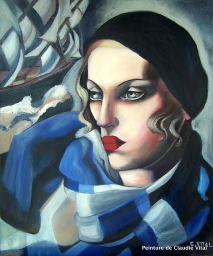 Tamara de Lempicka por claudie02